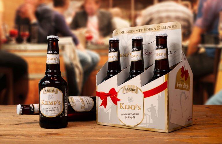 Das Bier von Edeka Kempken - Kemp's (Foto: © EDEKA Kempken)