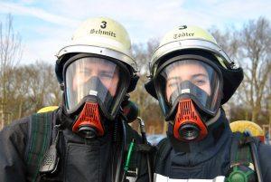 das Feuerwehrteam in Hüls