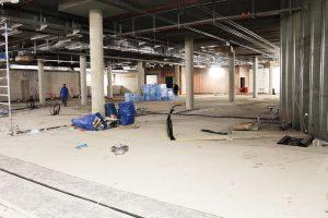 Umbauarbeiten Forum Krefeld