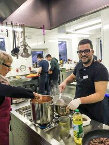 Azubis kochen Edeka Kempken