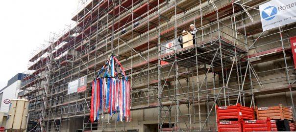 Umbau Forum Krefeld Edeka Kempken