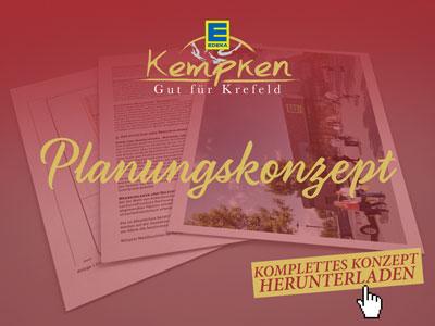 Edeka Kempken Planungskonzept herunterladen