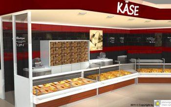 07 Die Käsetheke (Foto: © Plaungsgruppe Rhein-Ruhr)