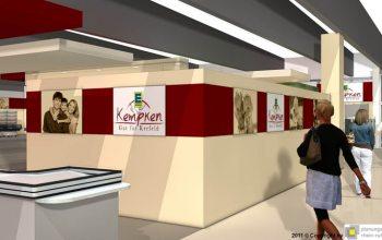 13 Der neue Edeka Markt bietet eine große Mall (Foto: © Plaungsgruppe Rhein-Ruhr)