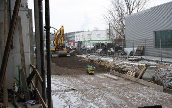 Baustelle Edeka Kempken Fütingsweg (Foto: © EDEKA Kempken)