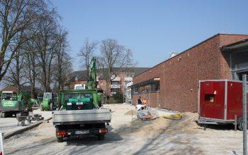 01 Hier entsteht der neue Parkplatz für den Edeka Markt (Foto: © EDEKA Kempken)