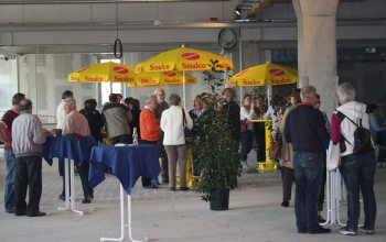 13 Die Besucher der Baustellen-Party (Foto: © EDEKA Kempken)