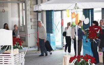 17 Der Eingang zur Baustellenparty und später zur neuen Mall (Foto: © EDEKA Kempken)
