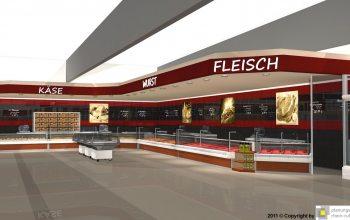 Fleisch-, Wurst- und Käsetheken (© Planungsgruppe Rhein Ruhr)