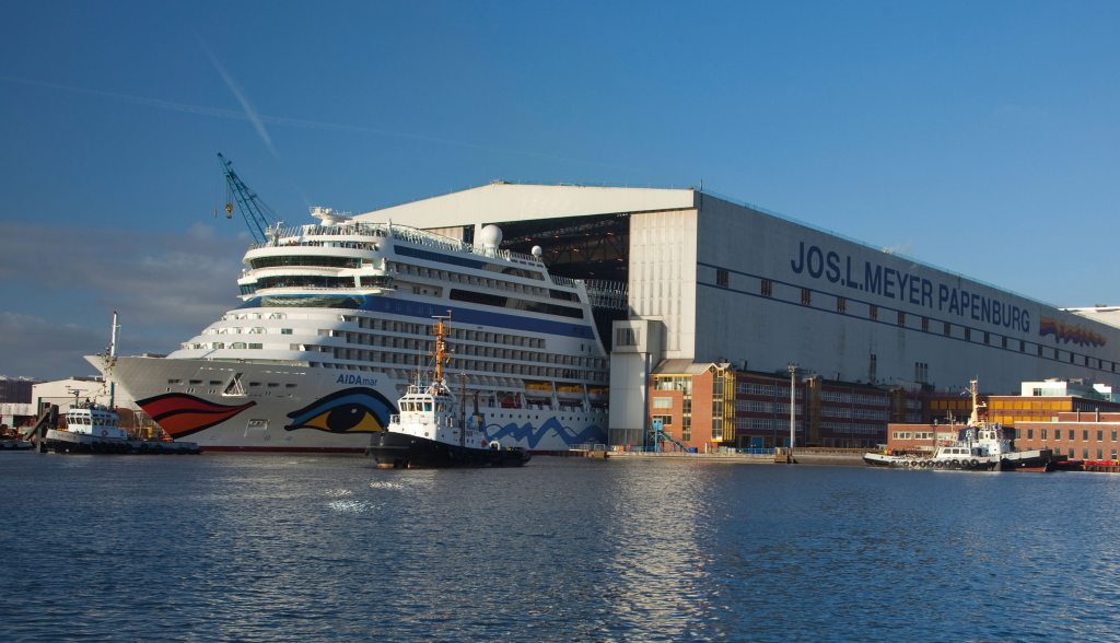 Meyer Werft Besichtigung