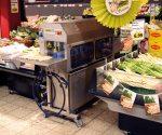 Hier ist der Schäl-Automat im Gahlingspfad-Markt im Einsatz. (Foto: © EDEKA Kempken)