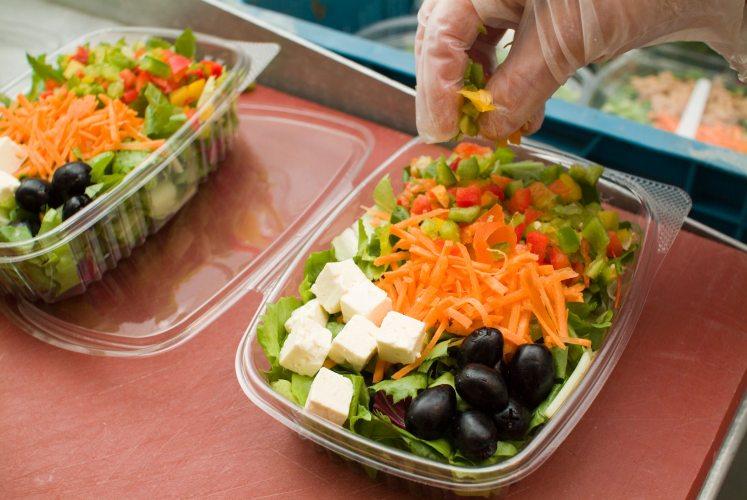 Bauer Funken - Frische Salate (Foto: © Bauer Funken)