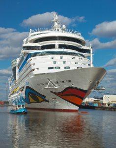 Eines der fertigen Schiffe (© Meyer Werft)
