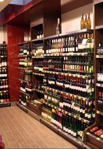 """LZ Direkt über die große Weinabteilung: """"Vielfalt und gut sortiert..."""" (© LZ Direkt)"""
