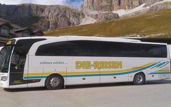 Die Busse von D.I.E.-Reisen bieten Komfort für alle Gelegenheiten (Foto: © Die Reisen Veranstaltungs GmbH)