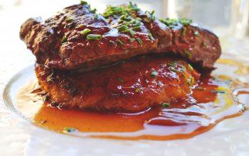 Die exotische Honig-Senf-Rucola Kruste macht das Rumpsteak zu etwas ganz Besonderem. (Foto: © pixabay.de)