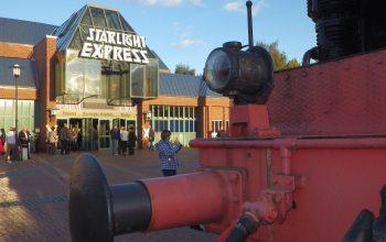 """Das Gebäude des Musicals """"Starlight Express""""´in Bochum am 07.10.2012. +++ Foto: Lutz Leitmann / Stadt Bochum, Presseamt"""