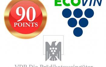 Wichtige Weinsiegel: Parker Punkte, VDP, Ecovin