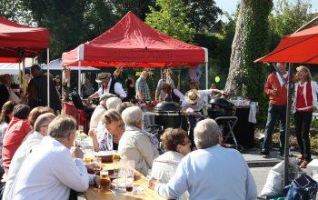 Mehr als 2000 Gäste kamen zu diesem besonderen Ereignis auf das Edeka Gelände (Foto: © EDEKA Kempken)