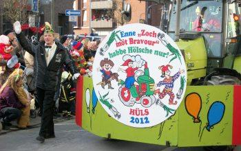 Karnevalkomitee Karnevalszug Hüls (Foto: © Karnevalskomitee Hüls)