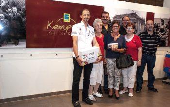 Unsere glücklichen Gewinner. (Foto: © EDEKA Kempken)