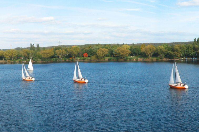 Masurensee in Duisburg. (Foto: © AlterVista)