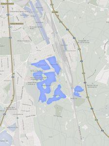 Sechs Seen Platte in Duisburg (© Google Maps)