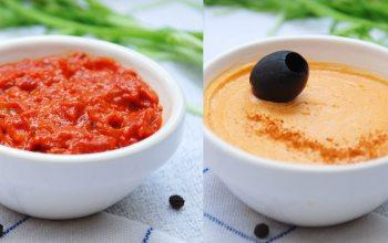 Paprikadipp, Tomaten-Buttercreme von Büsch. (Foto: © EDEKA Kempken)