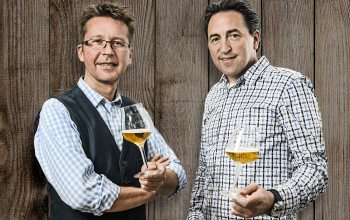 Bier-Experte Matthias Kliemt und Frank Winkel von ProBier. (Foto: © ProBier)