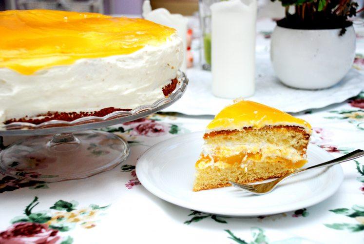 Mango Schmand Torte (Foto: © EDEKA Kempken)