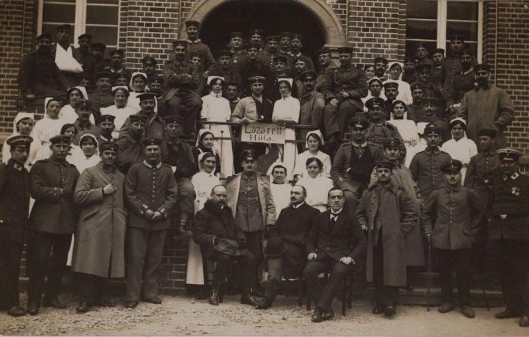 1914 – Das Lazarett in Hüls (Foto: © DRK)