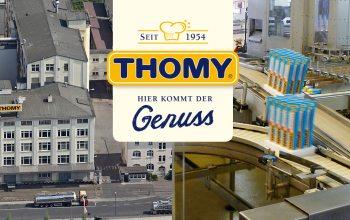 Thomy-Werk in Neuss (© Thomy)