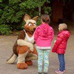 Walkacts im Zoo Krefeld (Quelle: Zoo Krefeld/V. Gorissen)