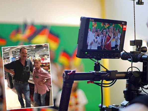 Heiner Kempken und Dani (Foto: ©SEL-Videoproduktion)