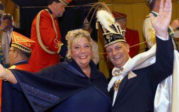 Das Prinzenpaar Britta und Dieter Nieendick (Foto: © Stadt Krefeld, Presse und Kommunikation, L. Strücken)