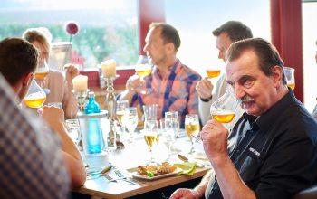 Auch Heiner Kempken fand Gefallen an der Vielfältigkeit der verschiedenen Biere.