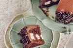 Mousse au Chocolat Torte für 6 Personen.