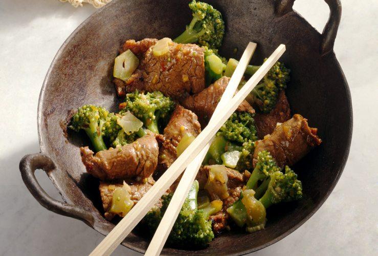 Asiatisches Rinderfilet mit Brokkoli (Foto: EDEKA)