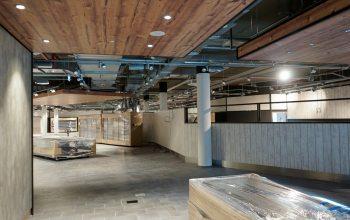 Seit dem 9. Oktober herrscht wieder reges Treiben: Die Inneneinrichtung wird geliefert und aufgebaut.
