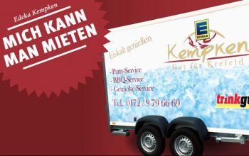Partyequipment mieten - Krefeld