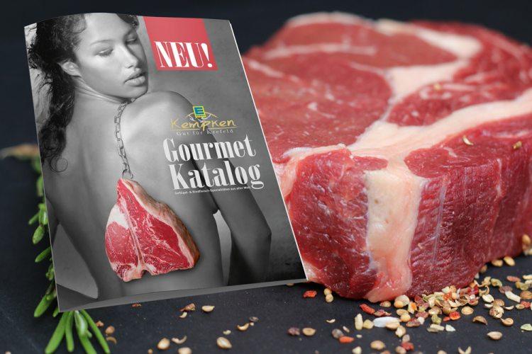 Gourmetfleischkatalog bei Edeka Kempken