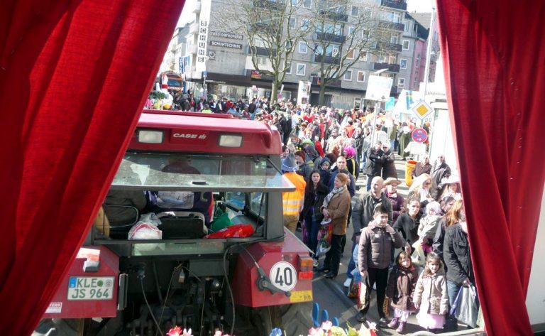 Rosenmontagszug Krefeld