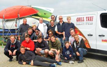 Der Segel-Surf-Club Kempen konnte auf seiner Jugendfreizeitreise auf die Unterstützung von Edeka Kempken zählen.