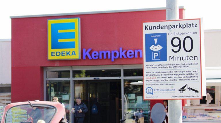 Parkscheibe am Fütingsweg-Markt nicht vergessen!