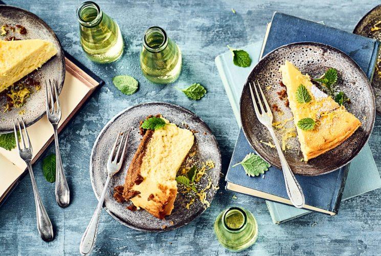 Zitronen-Käsekuchen für 12 Personen (Foto: EDEKA)