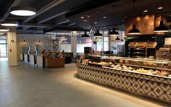 Bäckerei Büsch in der neuen Mall am Gahlingspfad