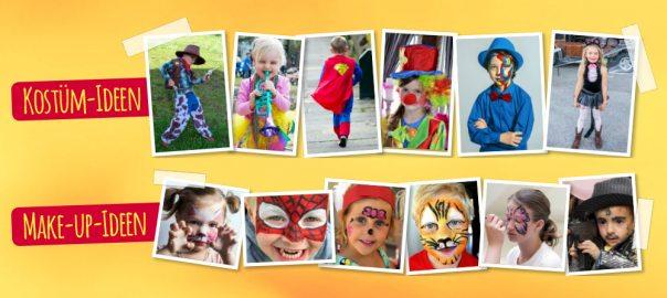 Kostümidee Makeup Karneval Kinder