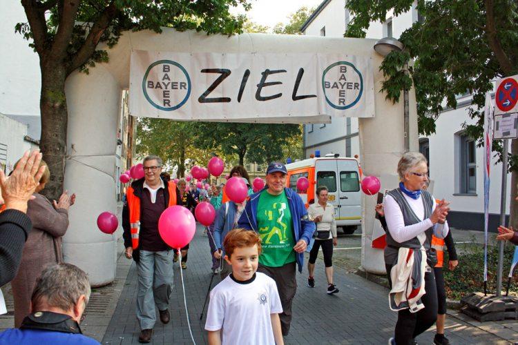 Spendenlauf in Krefeld