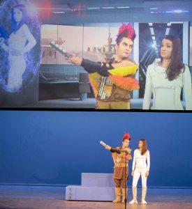 das Opernstudio Niederrhein führt die Zauberflöte auf.