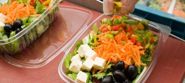 Bauer Funken - Salaate, Snacks, frische Dressings